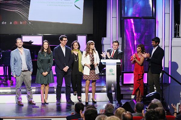 Científicos de Cabimer reciben el Premio Conecta 2019