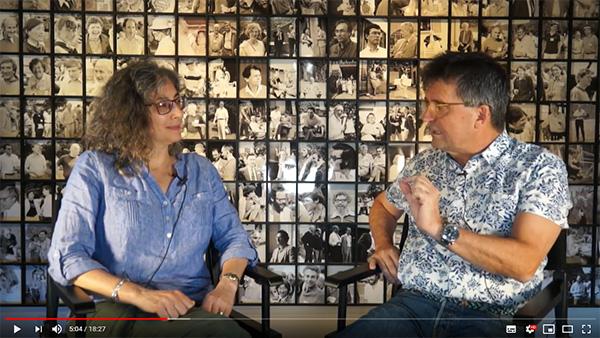Entrevista con Andrés Aguilera por Lara Szewczak, editora de la revista Cell, en Cold Spring Harbor, NY (USA) 2019